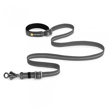 Slackline™ Leash Hundeleine Granite Gray